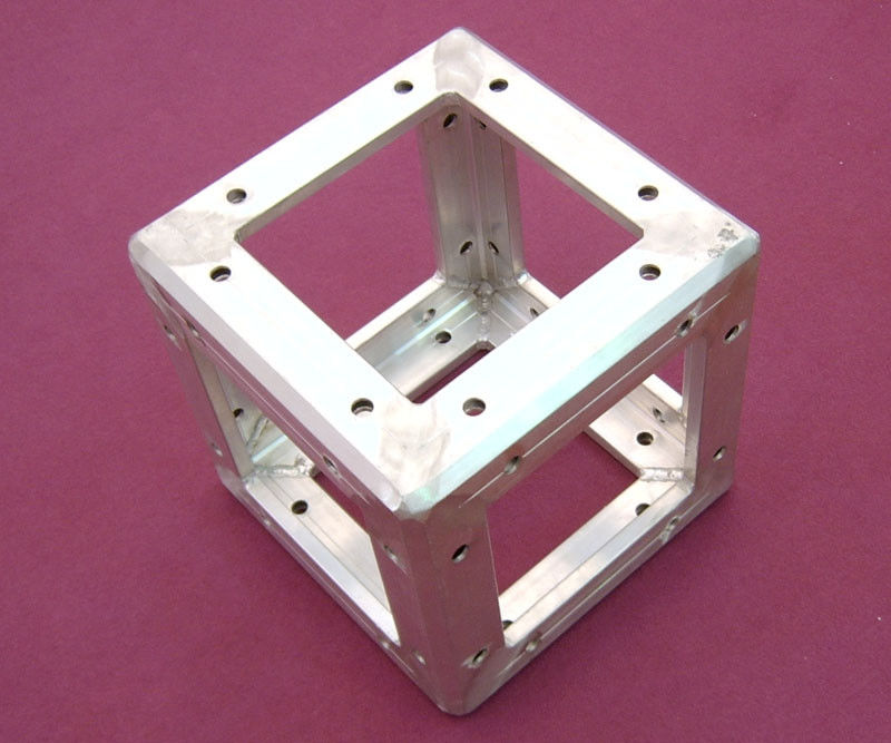 Outdoor Corner Truss Coupler Light Weight , Portable Truss