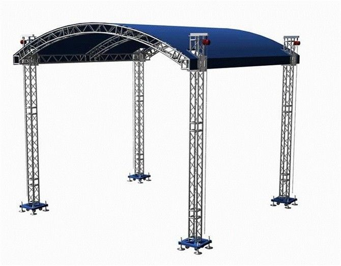 hot sale professional truss for concert lighting /aluminum stage truss