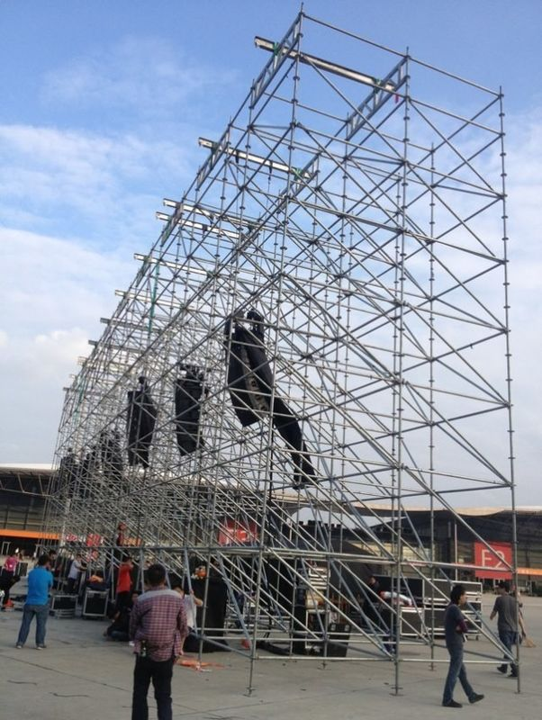 Aluminum Stage Lighting Truss For Trade Show Truss , Corrosion Resistance