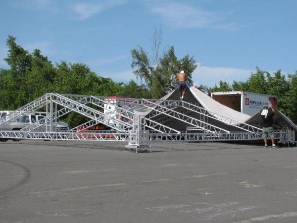 Aluminum 6082-T6 Stage Lighting Truss