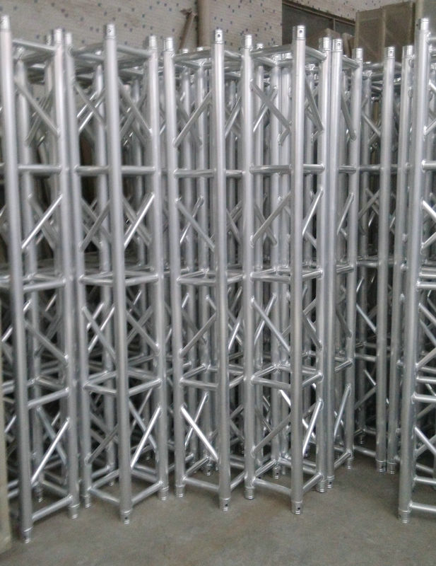 Customized 6082 Square Aluminum Square Truss / Spigot Lighting Truss