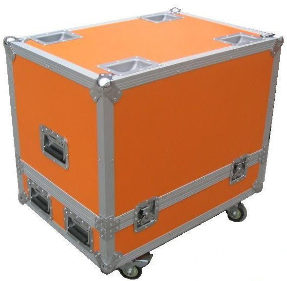 Orange Custom Rugged Flight Case With Butterfly Lock